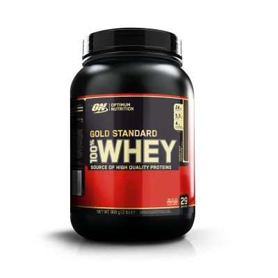 Optimum Nutrition 100% Whey Gold Standard 908g - Vanilla Ice Cream