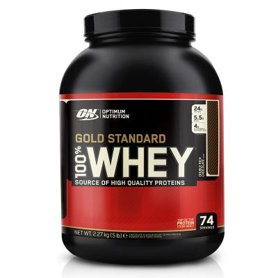 Optimum Nutrition 100% Whey Gold Standard 2273g - Double Rich Chocolate