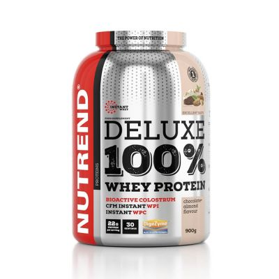 Nutrend Deluxe 100% Whey Protein 900g - Chocolate Brownies