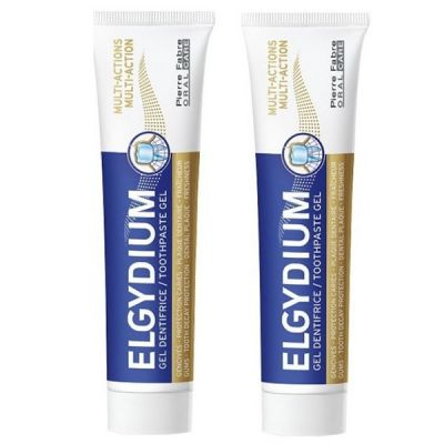 Elgydium PROMO PACK Multi Action Toothpaste Gel 2 x 75ml