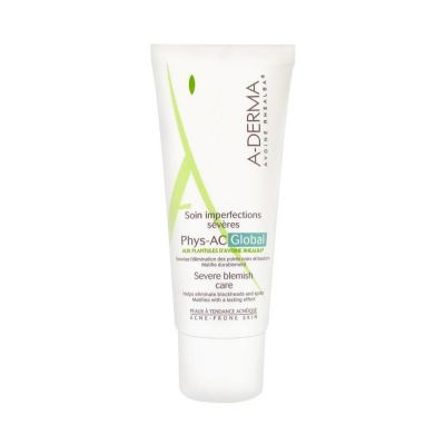 A-Derma Phys-AC Global Soin Anti-imperfections 40 ml