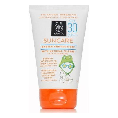 Apivita Suncare Babies Protection SPF30 Βρεφικό Αντηλιακό 100ml