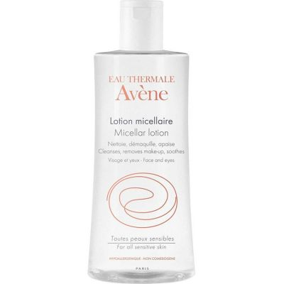 Avene Lotion Micellaire Cleanser, Απαλό Διάλυμα Καθαρισμού και Ντεμακιγιάζ, 500ml