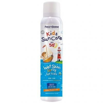 Frezyderm Kids Sun Care Wet Skin Spray  Παιδικό Αντηλιακό Σπρέι SPF50+ 200ml