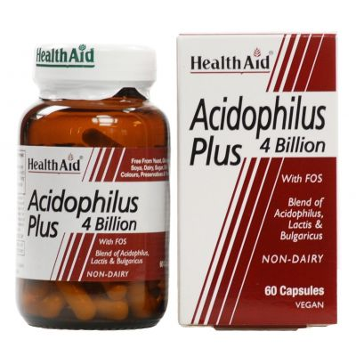 Health Aid Acidophilus Plus (4 billion) - 60 caps