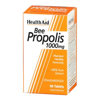 Health Aid Bee Propolis 1000mg 60 tabs