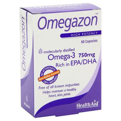 Health Aid Omegazon 750mg - 60 κάψουλες