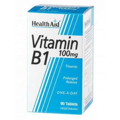 Health Aid Vitamin B1 100mg 90 tabs