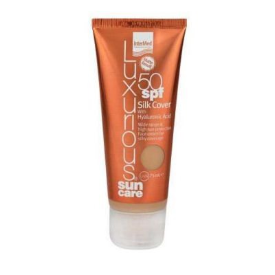 LUXURIOUS Sun Care Silk Cover SPF 50 Natural Beige 75ml