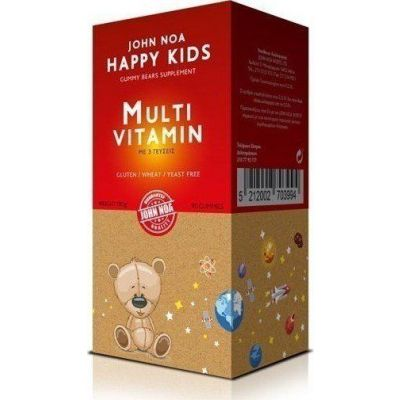 John Noa Happy Kids MultiVitamin 90 ζελεδάκια