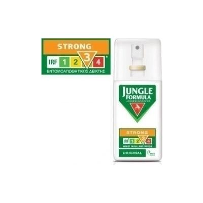 Omega Pharma Jungle Formula Spray Strong Original - Απωθητικό Κουνουπιών ΜΕ IRF3 - 75ML