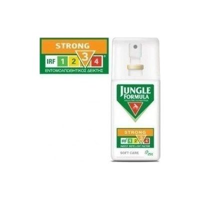 Omega Pharma Jungle Formula Spray Strong Soft Care - Απωθητικό Κουνουπιών ΜΕ IRF3 - 75ML