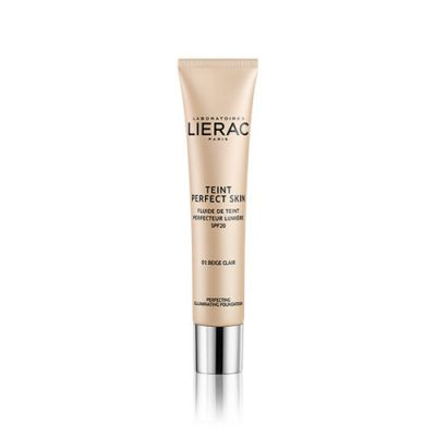Lierac Teint Perfect Skin Illuminating Fluid SPF20 01 Light Beige 30ml