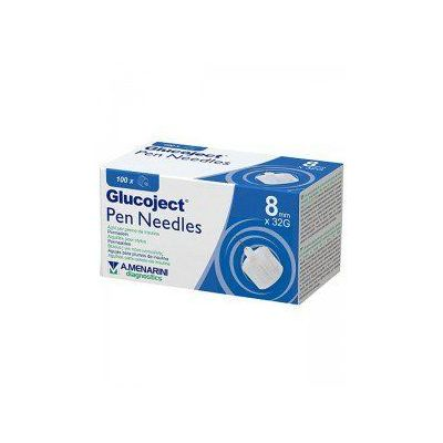 Menarini Glucoject - Pen Needles 8mm Χ 32G - 100τμχ