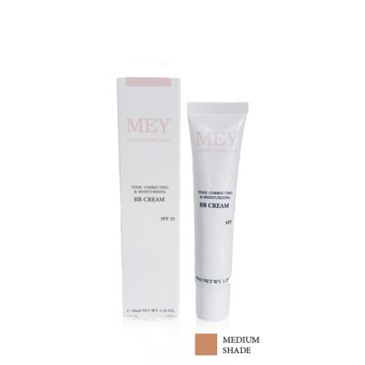 Mey BB Cream Tone Correcting & Moisturising Medium Shade SPF 25, 40ml