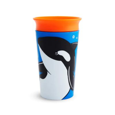 Munchkin Miracle 360° Sippy Cup 12m+ Orca 266 ml (51778)