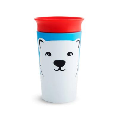 Munchkin Miracle 360° Sippy Cup 12m+ Polar Bear 266 ml (51779)