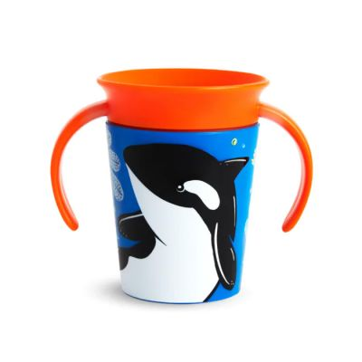 Munchkin Miracle 360° Trainer Cup 6m+ Orca 177 ml (51775)