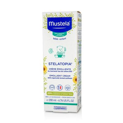 Mustela Stelatopia Emollient Cream 200 ml