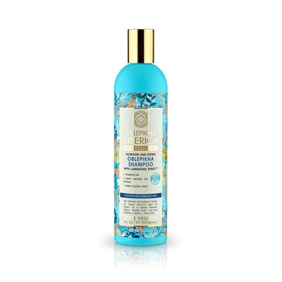 Natura Siberica Oblepikha Shampoo For Weak and Damaged Hair 400ml