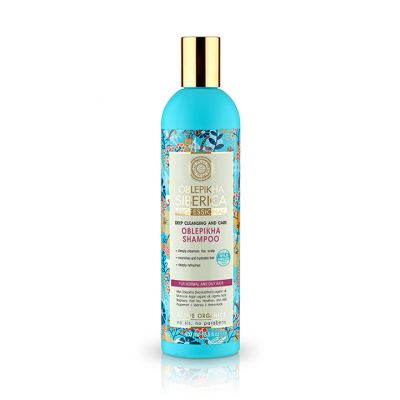 Natura Siberica Oblepikha Shampoo Normal Oily Hair 400ml