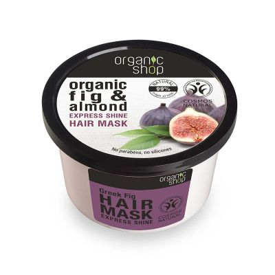 Natura Siberica Organic Fig & Almond Express Shine Hair Mask 250ml