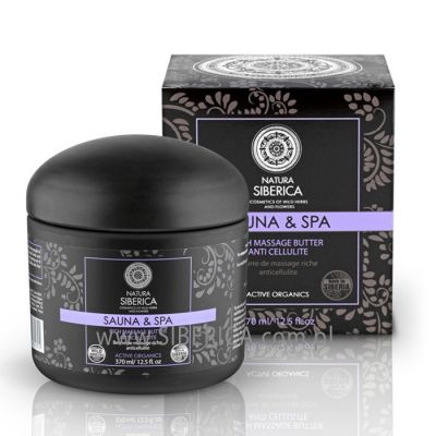 Natura Siberica Sauna & Spa Rich Massage Butter Anti Cellulite 370 ml