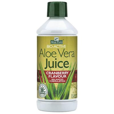 Optima Aloe Vera Juice Cranberry 1000ml