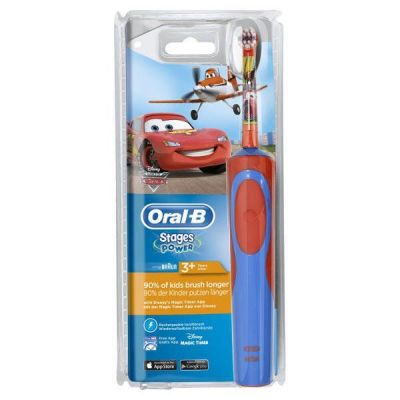 Oral-B Stages Power Cars - Παιδική Ηλεκτρική Οδοντόβουρτσα Cars 3+ - 1 τμχ