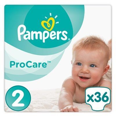 Pampers Procare Premium Protection No.2 (3-6kg) 36 Πάνες για βρέφη 3-6 κιλά