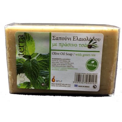 Bnef Benefit Dusavon Terra Olive Oil Soap Grean Tea 85gr