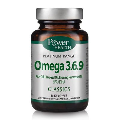 Power Health Classics Platinum Omega 3.6.9, 30 κάψουλες