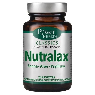 Power Health Classics Platinum Range Nutralax 20 caps