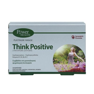 Power Health Classics Platinum Think Positive, 30 Caps