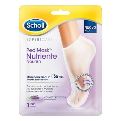 Scholl PediMask Nourish Foot Mask Lavender 1 pair