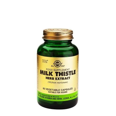 Solgar SFP Milk Thistle Herb Extract - 60 Φυτικές Κάψουλες