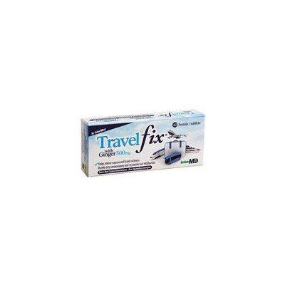 Travel Fix με Ginger 500mg 10 Δισκία