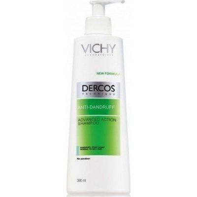 Vichy Dercos Anti Dandruff Shampoo Normal Oily Hair Pump Αντιπιτυριδικό Σαμπουάν 390ml