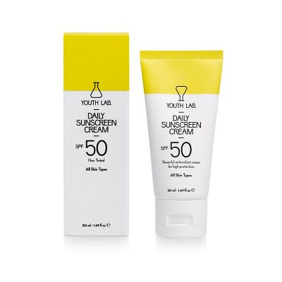Youth Lab. Daily Sunscreen Cream For All Skin Types SPF50 50 ml