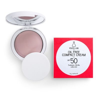Youth Lab. Oil Free Compact Cream Medium Color SPF50 10 gr