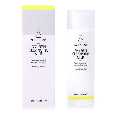 Youth Lab. Oxygen Cleancing Milk Normal/Dry Skin 200 ml