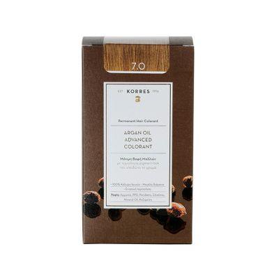Korres Argan Oil Advanced Colorant 7.0 Ξανθό Φυσικό 50 ml