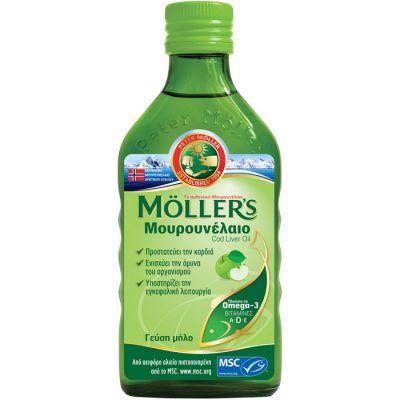Moller's Cod Liver Oil Apple 250 ml