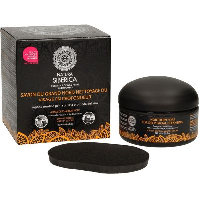 Natura Siberica Northern Soap For Deep Facial Cleansing 120ml