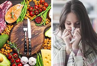 Διατροφικές Συμβουλές για να Ενισχύσετε το Ανοσοποιητικό σας Απέναντι στον Κορωνοϊό